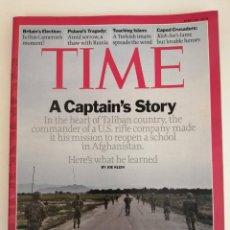 Libros de segunda mano: REVISTA TIME (EN IDIOMA INGLES). A CAPTAIN'S STORY. Lote 279388258