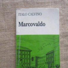 Libros de segunda mano: MARCOVALDO. ITALO CALVINO. EASY READERS, 1987. MUY ILUSTRADO. EN ITALIANO. Lote 279414048