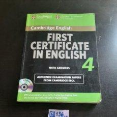 Libros de segunda mano: CAMBRIDGE ENGLISH. Lote 284158878