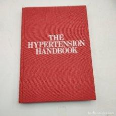 Libros de segunda mano: THE HIPERTENSION HANDBOOK.PRESENTED AS A SERVICE TO MEDICINE BY MERCK SHARP & DOHME.1974.. Lote 285145598