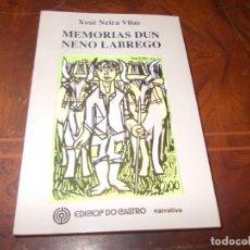 Livros em segunda mão: MEMORIAS DUN NENO LABREGO, XOSÉ NEIRA VILAS. ED. DO CASTRO 20ª ED. 1.999, EN GALLEGO. Lote 286424718