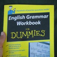 Libros de segunda mano: ENGLISH GRAMMAR WORK BOOK FOR DUMMIES-ENVIO CERT 4,99. Lote 286384633