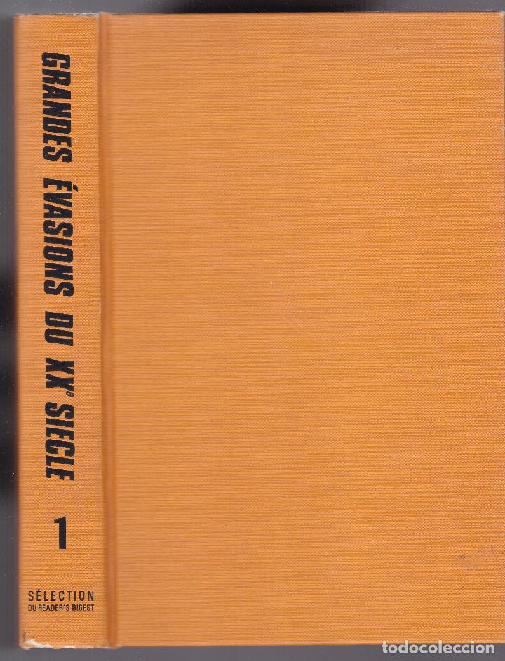 GRANDES ÉVASIONS DU XX SIÈCLE - VOLUME I - READER´S DIGEST 1980 (Libros de Segunda Mano - Otros Idiomas)