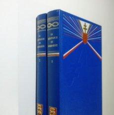 Libros de segunda mano: LA RESISTANCE EN NORMANDIE 1 Y 2 - COLONEL REMY - SAINT-CLAIR - 2 TOMOS - FRANCES. Lote 288057088