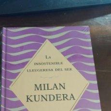 Libros de segunda mano: MILAN KUNDERA . LA INSOSTENIBLE LLEUGERESA DEL SER. 1993. PRECINTADO, PYMY C. Lote 288077183