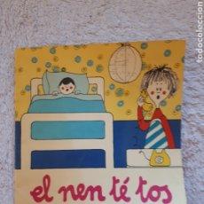Libros de segunda mano: EL NEN TE TOS.... - COL.LECCIÓ A POC A POC - ED. LA GALERA. Lote 288311598