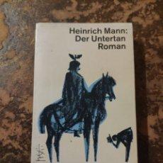 Libros de segunda mano: DER UNTERTAN ROMAN (HEINRICH MANN) (DTV). Lote 288412963
