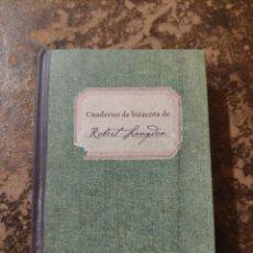 Libros de segunda mano: CUADERNO DE BITÁCORA DE ROBERT LANGDON. Lote 288413318