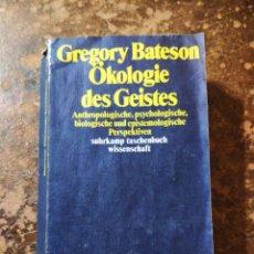 Libros de segunda mano: OKOLOGIE DES GEISTES (GREGORY BATESON). Lote 288413673