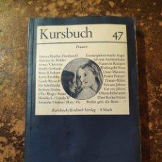 Libros de segunda mano: KURSBUCH 47, 1977. Lote 288413868
