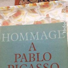 Libros de segunda mano: HOMMAGE A PABLO PICASSO.. Lote 289484168