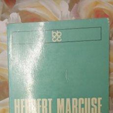 Libros de segunda mano: L'HOME UNIDIMENSIONAL. HERBERT MARCUSE. EDICIONS 62.. Lote 289491118