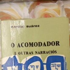 Libros de segunda mano: O ACOMODADOR E OUTRAS NARRACIÓS. MARCIAL SUAREZ. GALAXIA.. Lote 289491748
