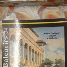Libros de segunda mano: ESTUDIS BALEÀRICS 34. CONSELLERIA DE CULTURA, EDUCACIÓ I ESPORTS GOVERN BALEAR.. Lote 289493603