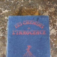 Libros de segunda mano: LES CHEMINS DE L'INNOCENCE (TAYLOR CALDWELL). Lote 289698143