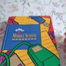 Libros de segunda mano: G-92 LIBRO HOLT MIDDLE SCHOOL HANDBOOK. Lote 289717308