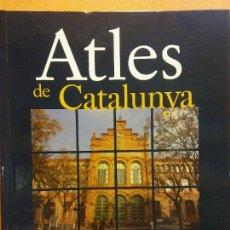 Libros de segunda mano: ATLES DE CATALUNYA. BARCELONÈS - VALLÈS OCCIDENTAL. ENCICLOPÈDIA CATALANA. Lote 289862973