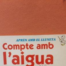 Libros de segunda mano: COMPTE AMB L'AIGUA. MIKE HIGGS. EDITORIAL MOLINO.. Lote 290009703