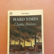Livros em segunda mão: HARD TIMES. CHARLES DICKENS. OXFORD UNIVERSITY. Lote 290029893