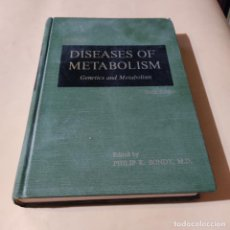 Libros de segunda mano: DISEASES OF METABOLISM.GENETICS AND METABOLISM.EDITED.PHILIP K. BONDY,M.D.1964.710 PAGS.. Lote 290314713