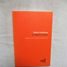 Libros de segunda mano: LE RAPPEL A L´ORDRE / DANIEL LINDENBERG. Lote 293948698