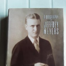 Libros de segunda mano: SCOTT FITZGERALD: A BIOGRAPHY - JEFFREY MEYERS (INGLÉS). Lote 294483448