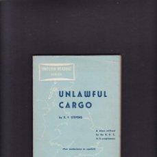 Libros de segunda mano: UNLAWFUL CARGO - S. F. STEVENS - EDITORIAL ALHAMBRA 1955. Lote 295048438
