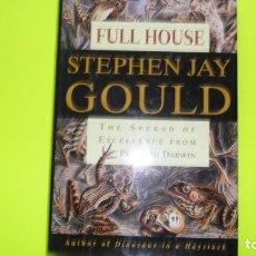 Libros de segunda mano: FULL HOUSE, STEPHEN JAY GOULD, ED. HARMONY BOOKS, TAPA DURA. Lote 295485583