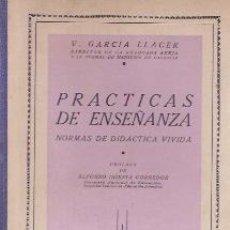 Libros de segunda mano: PRÁCTICAS DE ENSEÑANZA (MADRID, 1942). Lote 25071113