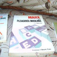 Libros de segunda mano: MARX Y LA PEDAGOGÍA MODERNA. MANACORDA.. Lote 16704168