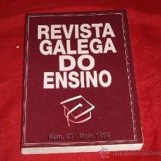 Libros de segunda mano: REVISTA GALEGA DO ENSINO - Nº 23. Lote 26818552