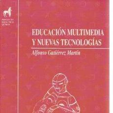 Libros de segunda mano: EDUCACIÓN MULTIMEDIA Y NUEVAS TECNOLOGÍAS (MADRID, 1997). Lote 23418381