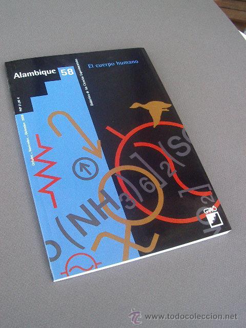 """REVISTA ALAMBIQUE 58 """"EL CUERPO HUMANO"""" VARIOS AUTORES. GRAÓ- PEDAGOGÍA (Libros de Segunda Mano - Ciencias, Manuales y Oficios - Pedagogía)"""