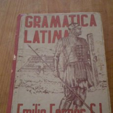 Libros de segunda mano: GRAMATICA LATINA (EMILIO FORNES, S.L.) 1951. Lote 27220942