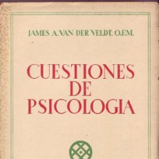 Second hand books - Cuestiones de psicología. James A. Van der Veldt. - 27893287