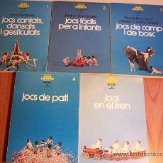 Livres d'occasion: LOTE DE 5 LIBROS (JOCS DIRIGITS) LA LLAR DEL LIBRE-1986/87 (EN CATALÁN). Lote 43704554