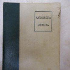 Libros de segunda mano: METODOLOGIA DIDÁCTICA.. R. TITONE. ED RIALP. 1979 . Lote 32352593
