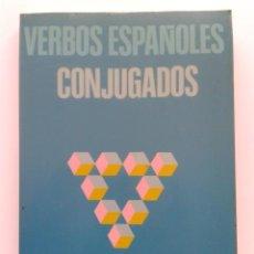 Libros de segunda mano: VERBOS ESPAÑOLES CONJUGADOS - PALOMA RUBIO - SOCIEDAD GENERAL ESPAÑOLA DE LIBRERIA. Lote 32419788