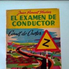 Libros de segunda mano: EL EXAMEN DE CONDUCTOR - CARNET DE CHOFER - SENENT 1963. Lote 32428421