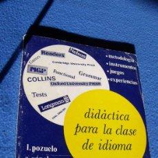 Libros de segunda mano: DIDACTICA PARA LA CLASE DE IDIOMA - NARCEA S.A 1981 -. Lote 32779795