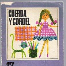 Libros de segunda mano: CUERDA Y CORDEL. Lote 33770807