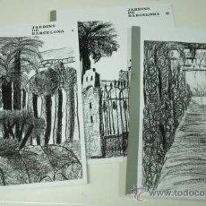 Libros de segunda mano: JARDINS DE BARCELONA (3 VOLUMS) - ESCOLA AULA - MOLT RAR - EDICIÓ CICLOSTILADA. Lote 35315994