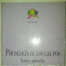 Libros de segunda mano: PSICOLOGÍA DE LOS GRUPOS - TEORÍA Y APLICACIÓN - EDITORA PILAR GONZÁLEZ - VARIOS AUTORES - 1997 - . Lote 36673519