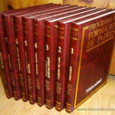 Libros de segunda mano: PROGRAMA DE FORMACIÓN DE PADRES 8T POR CARLOS GISPERT DE ED. OCÉANO / EXITO EN BARCELONA 1986. Lote 36788627