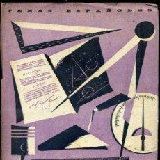 Libros de segunda mano: TEMAS ESPAÑOLES Nº105 : FORMACIÓN PROFESIONAL (1955). Lote 37254268