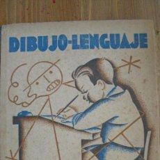 Libros de segunda mano: DIBUJO-LENGUAJE. INICIACIÓN DEL DIBUJO EN LA ESCUELA.. Lote 37604500