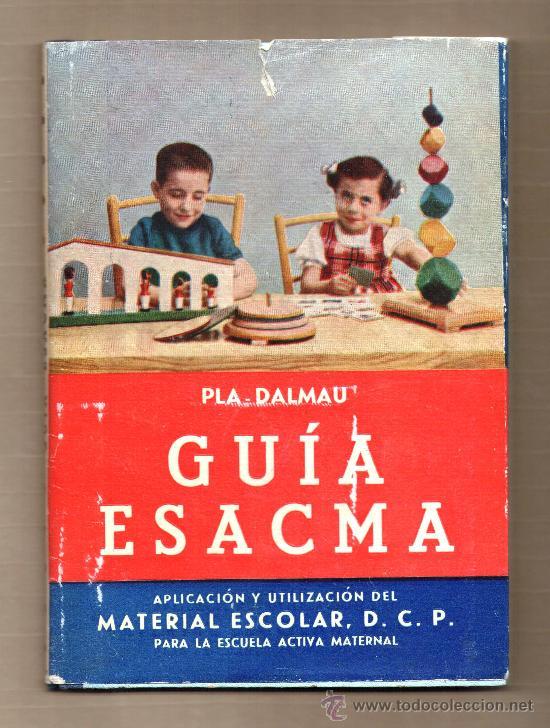 GUIA ESACMA DE 1958 (Libros de Segunda Mano - Ciencias, Manuales y Oficios - Pedagogía)