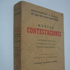 Libros de segunda mano: CONTESTACIONES A OPOSICION MAGISTERIO T.II. Lote 38098542