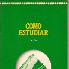 Libros de segunda mano: COMO ESTUDIAR A HOWE DEUSTO 1990. Lote 39009534