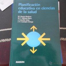 Libros de segunda mano - Planificación educativa en Ciencias de la salud. - 39421160